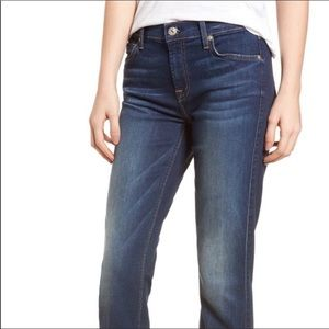 7 For All Mankind Iconic Medium Wash Bootcut Jeans